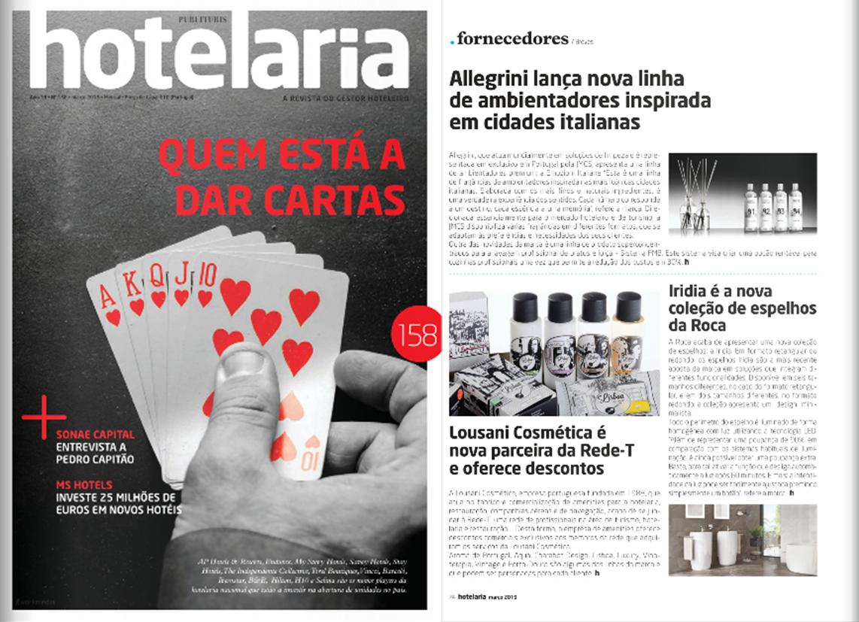 JMCS na edição de Março da Revista Hotelaria