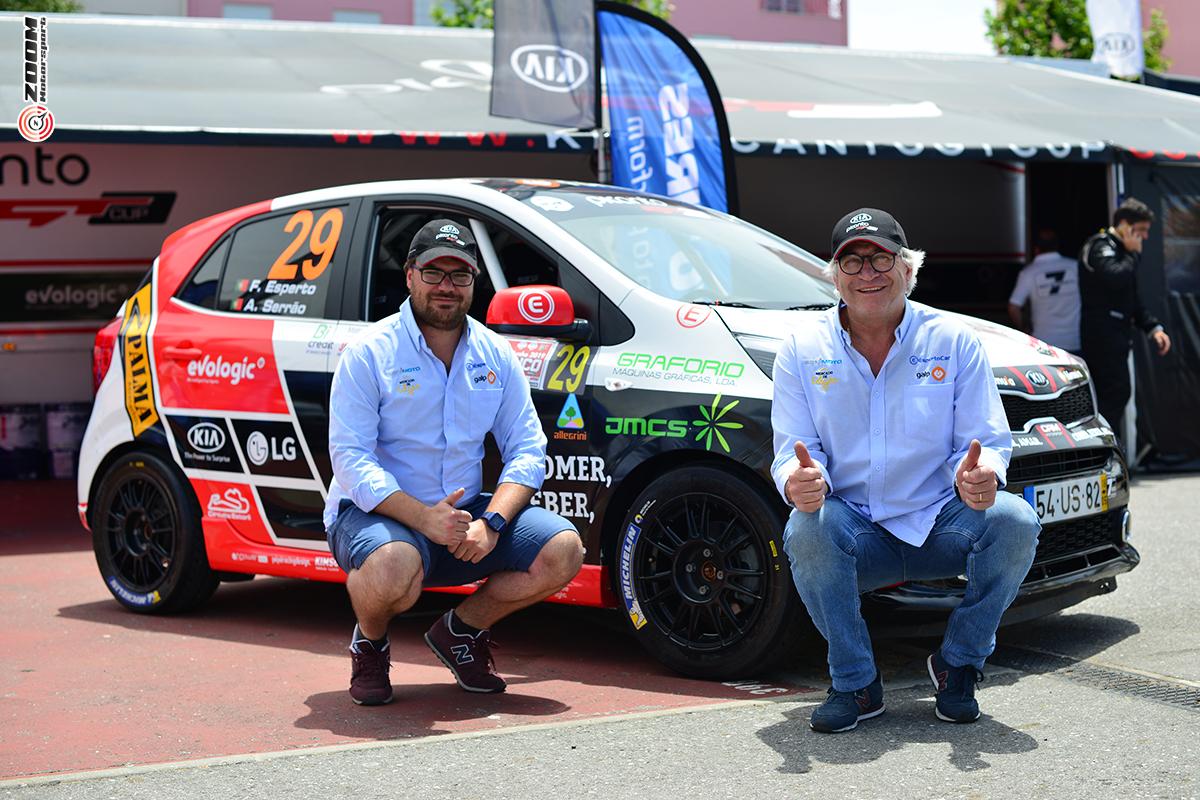JMCS patrocina o piloto Francisco Esperto no KIA Picanto Cup